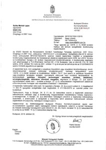 MKEH 1 2016 bejelentés igazolás
