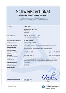 TÜVRh-EN1090-2.01438.2019.003
